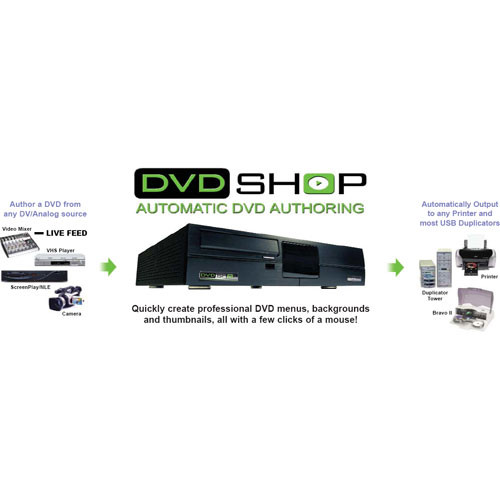 Applied Magic DVD Shop Express Authoring System