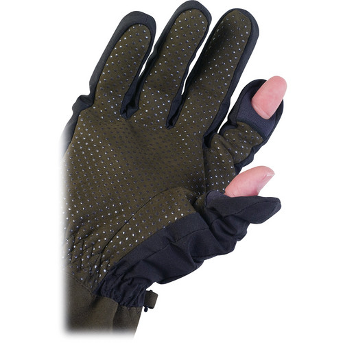 AquaTech Sensory Gloves (Small, Black/Moss)