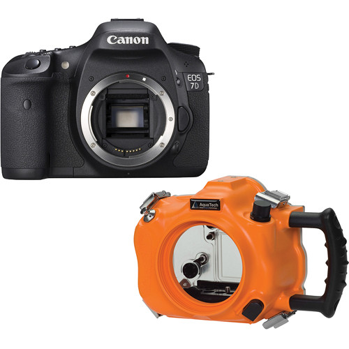 AquaTech CO-7 Sports Housing Kit with Canon EOS 7D Digital Camera