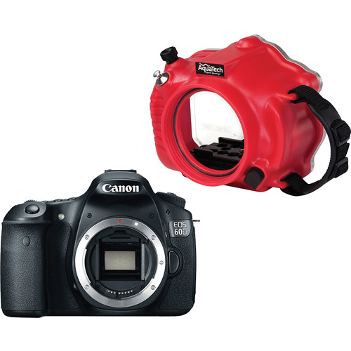 AquaTech CR-60 Sport Housing and Canon EOS 60D DSLR Camera Kit