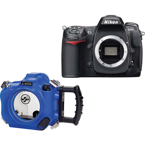 AquaTech NB-300S Sports Housing Kit with Nikon D300s Digital Camera