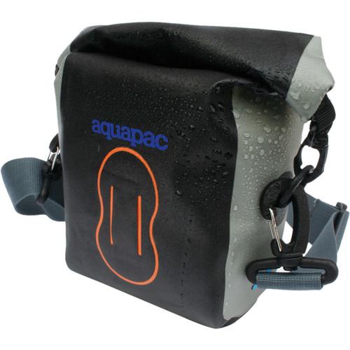 """Aquapac Medium Stormproof Compact Camera Case (5 x 4.5 x 3"""", Cool Gray)"""
