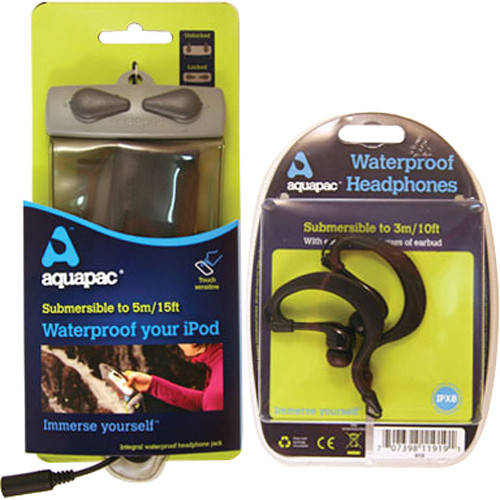 Aquapac MP3 Case with Headphones