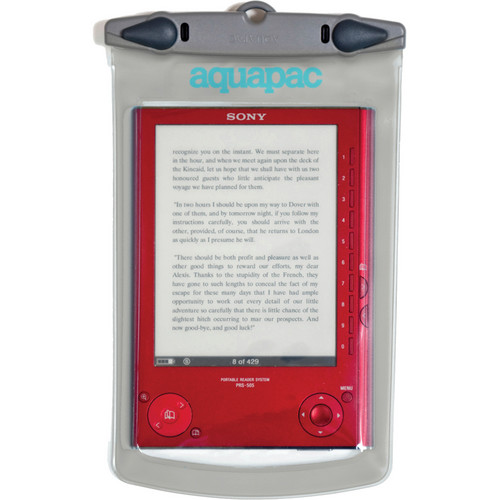 "Aquapac Medium Whanganui Electronics Case (10.5 x 7.9"", Cool Gray)"