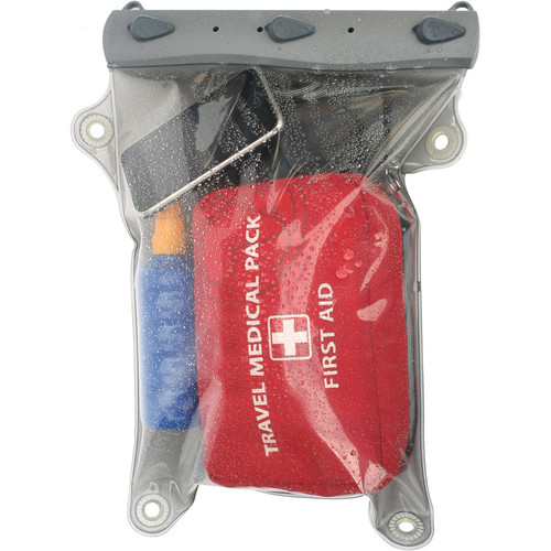 "Aquapac Large Whanganui Electronics Case (17.3 x 11.5"", Cool Gray)"