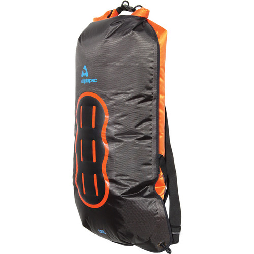 Aquapac 25 Liter Noatak Wet/Drybag (Cool Gray, Black and Orange)