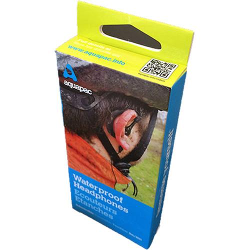 Aquapac 100% Waterproof Headphones (Black)