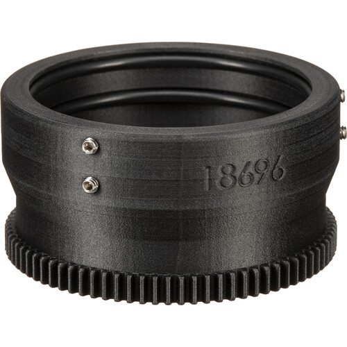 Aquatica 18696 Zoom Gear for Nikon 10-24mm f/3.5-4.5G DX ED & 12-24mm f/4G DX ED in Lens Port on Underwater Housing