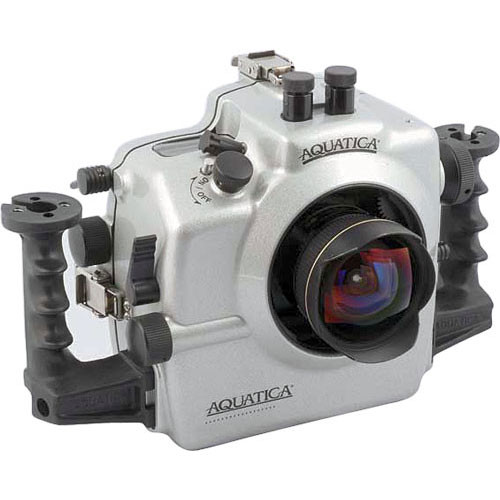 Aquatica Underwater Housing w/ Wired for TTL Ikelite Bulkhead for Nikon D2X