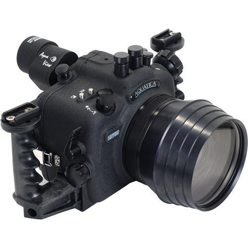 Aquatica Underwater Housing w/ Double Nikonos Bulkheads for Nikon D700
