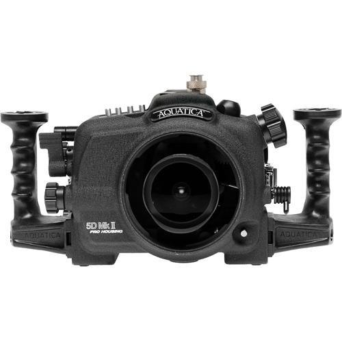 Aquatica Underwater Housing w/ Manual Ikelite Bulkhead for Canon 5D Mark II