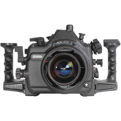 Aquatica AD300s Underwater Housing for Nikon D300s with Aqua VF (Dual Optical Strobe Connectors)