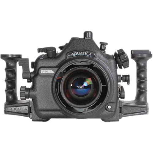 Aquatica AD300s Underwater Housing for Nikon D300s with Aqua VF (Dual Nikonos Strobe Connectors)