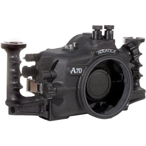 Aquatica 7D UW Housing w/ Fiber Optic Cable Port & Nikonos Bulkhead for Canon 7D