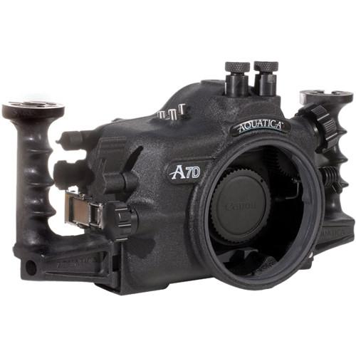 Aquatica Underwater Housing w/ Manual Ikelite Bulkhead for Canon 7D