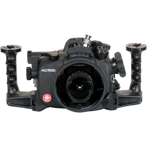 Aquatica AD7000 Underwater Housing for Nikon D7000 with Ikelite TTL Bulkhead