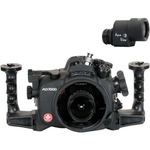Aquatica AD7000 Underwater Housing for Nikon D7000 with Ikelite TTL Bulkhead & Aqua View Finder