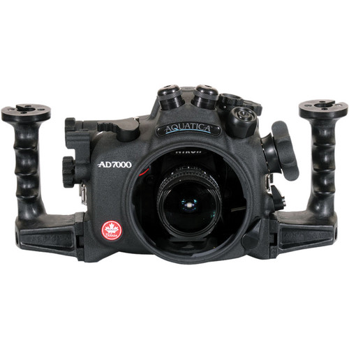 Aquatica AD7000 Underwater Housing for Nikon D7000 with Dual Optical Fiber Ports