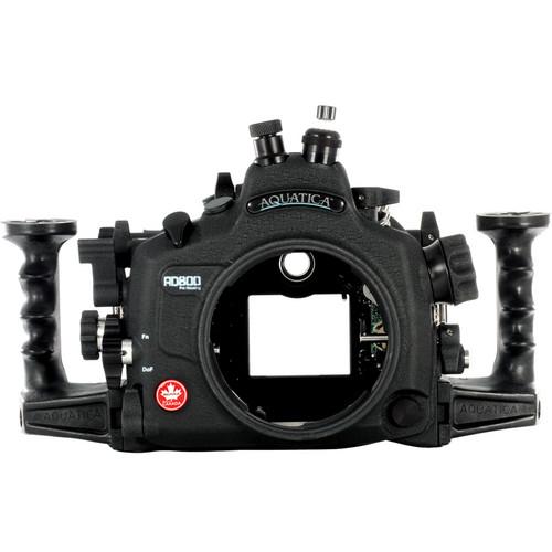 Aquatica AD800 Underwater Housing for Nikon D800 or D800E (Nikonos and Fiber-Optic Strobe Connectors)