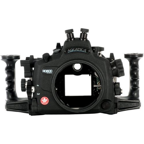 Aquatica AD800 Underwater Housing for Nikon D800 or D800E (Dual Nikonos Strobe Connectors)