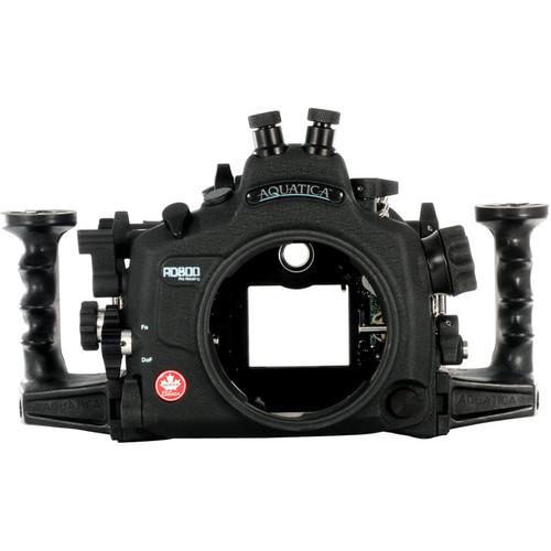 Aquatica AD800 Underwater Housing for Nikon D800 or D800E (Dual Nikonos Strobe Connectors)