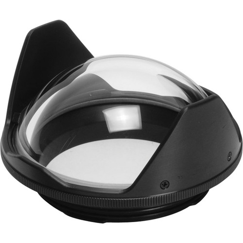"""Aquatica 4"""" Glass Dome Port for Sony SEL16F28 16mm f/2.8 Pancake Lens in AN Series Underwater Housings"""