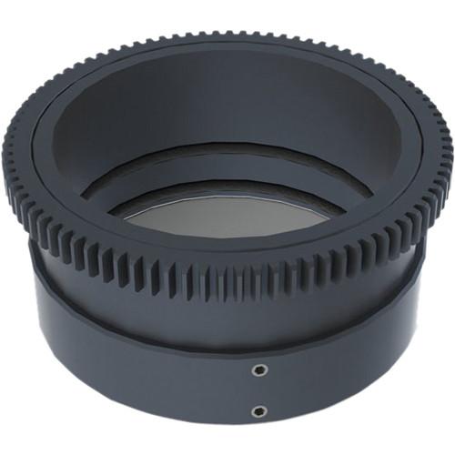 Aquatica 48696 Zoom Gear for Nikon 10-24mm f/3.5-4.5 & 12-24mm f/4G DX ED in Lens Port on Underwater Housing