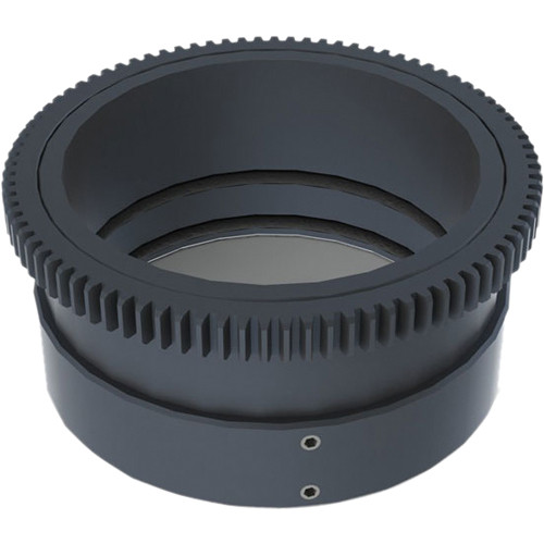 Aquatica 48696 Zoom Gear for Nikon 10-24mm f/3.5-4.5 & 12-24mm f/4G DX ED in Lens Port on Underwater Housing