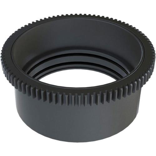 Aquatica 48731 Zoom Gear for Tokina AT-X 10-17mm f/3.5-4.5 DX Fisheye + Kenko 1.4x Converter in Lens Port on Underwater Housing