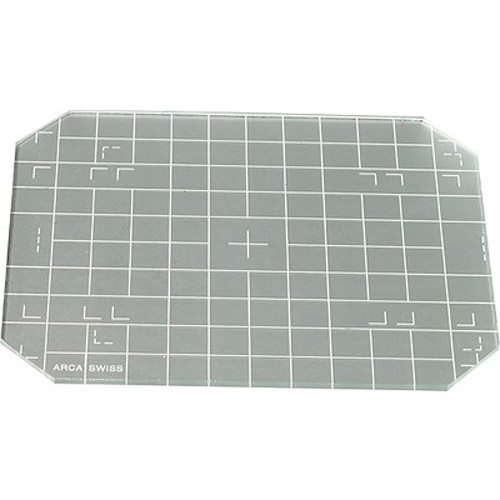 Arca-Swiss 4x5 Groundglass Focusing Screen with Grid