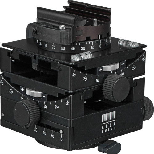 Arca-Swiss C1 Cube Geared Head w / Arca-Type Flip-Lock Quick Release