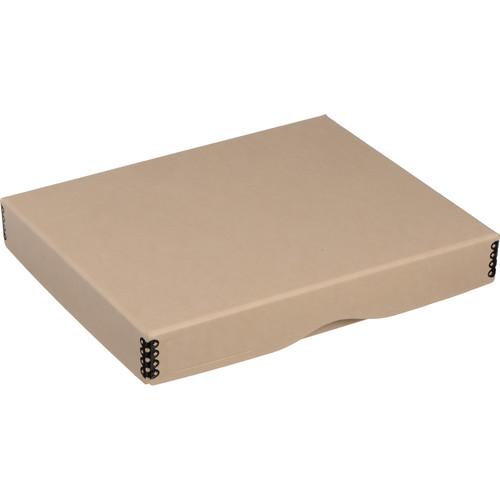 "Archival Methods Drop-Front Archival Storage Box (8.5 x 10.5 x 1.5"", Tan)"