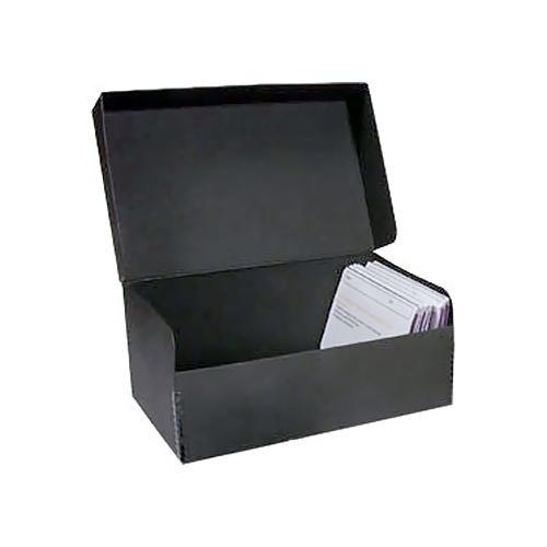 "Archival Methods Hinged Lid Box (11-5/8 x 8-1/16 x 6-1/8"", Black)"