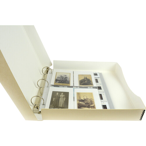 "Archival Methods 06-001 Binder Box (1.5"" O-Ring, Tan)"