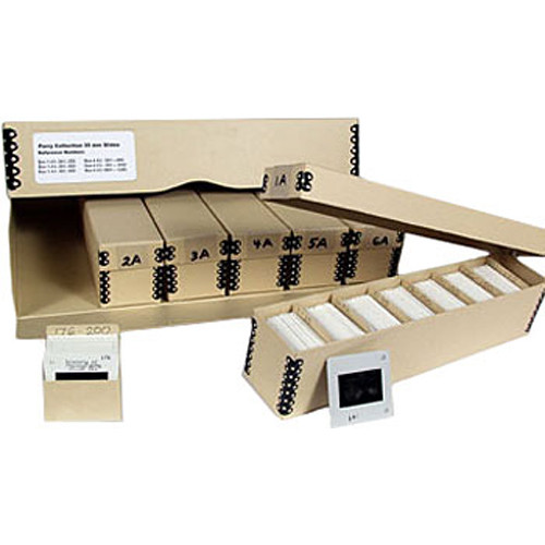 Archival Methods 07062 35mm Slide Storage System (Tan)