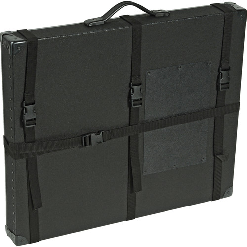 "Archival Methods 13 x 19 x 3"" Trans-Port Shipping Case (Black)"