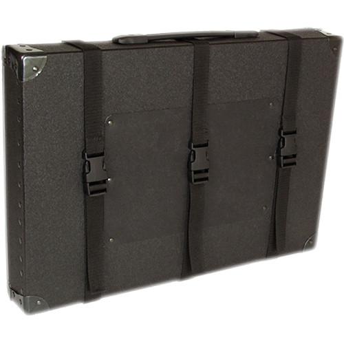 "Archival Methods 16 x 20 x 3"" Trans-Port Shipping Case (Black)"
