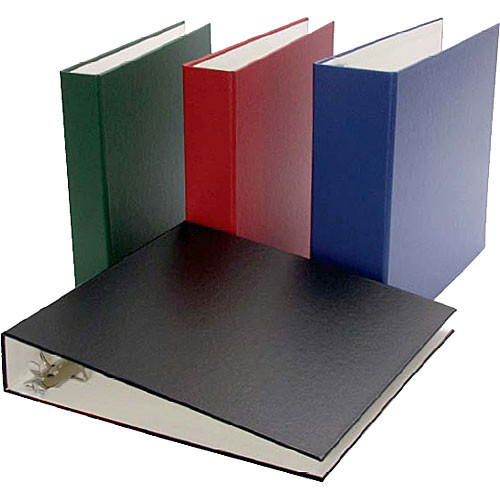 "Archival Methods 17-5016 Collector Grade Ring Binder (12 x 12.1 x 1.5"", Navy Blue)"