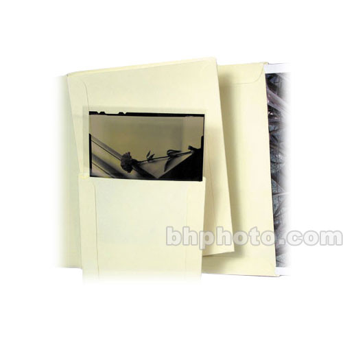 "Archival Methods Open End Envelopes - 4-3/8 x 5-3/8"" 50 Pack (Cream)"