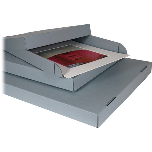"""Archival Methods Archival Corrugated Drop Side Box (16x20"""" - Set Of 3)"""