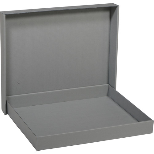 "Archival Methods Pre-Assembled Corrugated Drop Side Box (20x24"")"