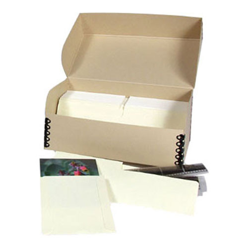 "Archival Methods Film Storage System for 4x5"" with Polyester Sleeves"