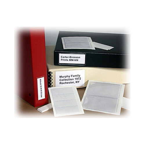 "Archival Methods Label Holder (2-3/4 x 4-3/8"" , 20 Labels and Inserts)"