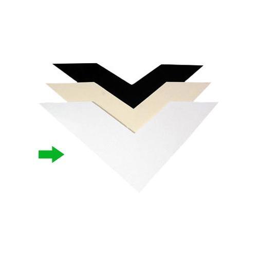 "Archival Methods 2-Ply Bright White 100% Cotton Museum Board (8 x 10"", 25 Boards)"
