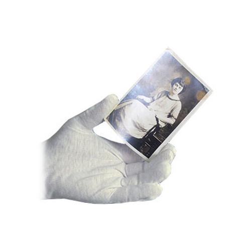 Archival Methods 61-555-XL White Nylon Gloves (Extra Large, 12 Pairs)