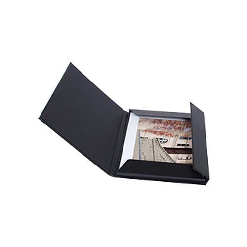 "Archival Methods 8.75 x 11.5"" Leather Print Folio (Black)"