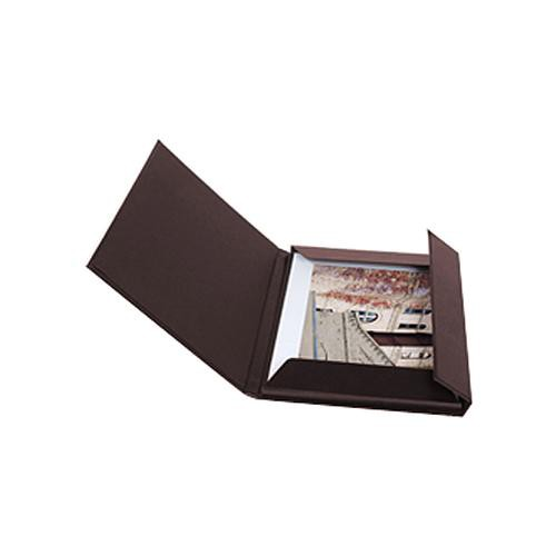 "Archival Methods 11.25 x 14.25""  Leather Print Folio (Burgundy)"