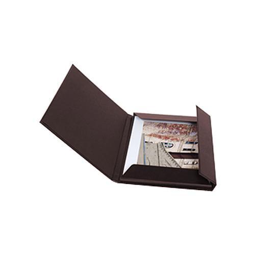 "Archival Methods 17.25 x 22.25"" Leather Print Folio (Burgundy)"