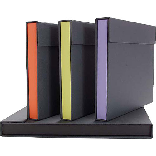 Archival Methods Accent Portfolio (Gray/Saffron Orange)