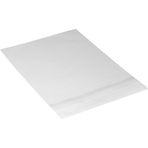 """Archival Methods 8.25 x 10.1"""" Crystal Clear Bags (100-Pack)"""